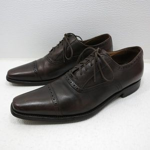 Campanile Kabay Brogue Leather Oxfords 6